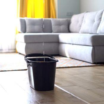 bucket-water-damage-livingroom
